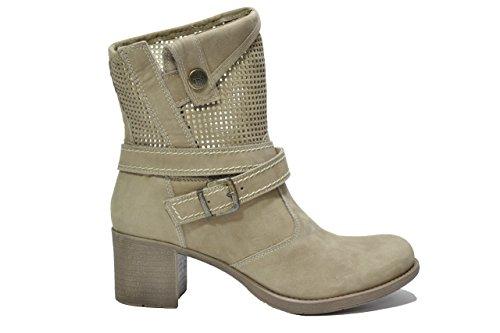 Nero Giardini Tronchetti tortora 2311 scarpe donna P512311D 35