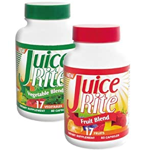 JUICE-RITE #1 Seller (One Month Supply) Fruit & Vegetable Capsules