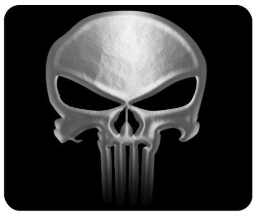 Punisher Skull Custom Mouse Pad from Redeye Laserworks