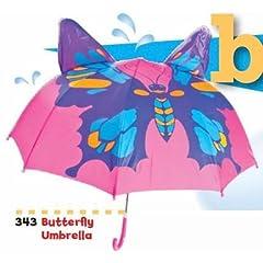 Butterfly Umbrella Purple/Blue