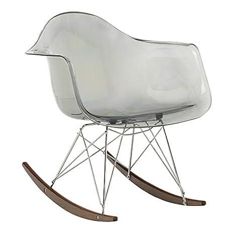 Sedia a Dondolo IMS Trasparente [SUPREME] Grigio Sfumato - (Scegli un colore) SKLUM
