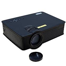 CROCON 1200 Lumens Everycom UC40S Mini Portable Projector full hd Home Theater