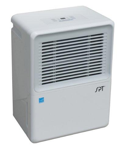 SPT - 70-Pint Dehumidifier - White SD-72PE