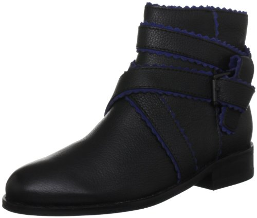 Juicy Couture Women's Rino Black Ankle Boots J370253 6 UK, 9 US