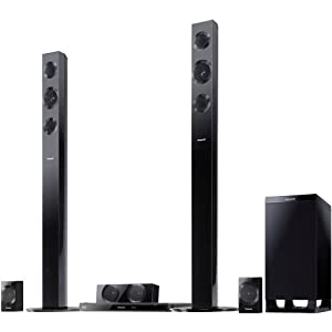 Panasonic SC-BTT490 Energy Star 5.1-Channel 1000-Watt Full HD 3D Blu-Ray Home Theater System with Built-in Wi-Fi