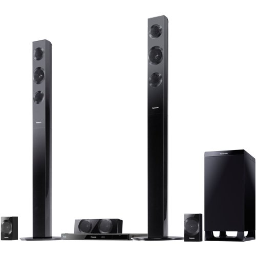 Purchase Panasonic SC-BTT490 Energy Star 5.1-Channel 1000-Watt Full HD 3D Blu-Ray Home Theater Syste...