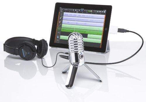 Samson Meteor Mic USB Studio Microphone (Chrome) - 6