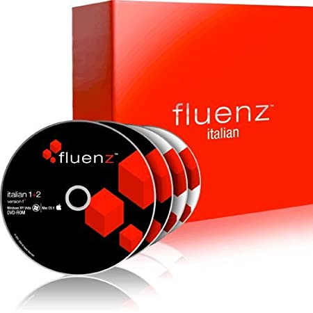 Fluenz Italian 1+2 with supplemental Audio CDs and Podcasts