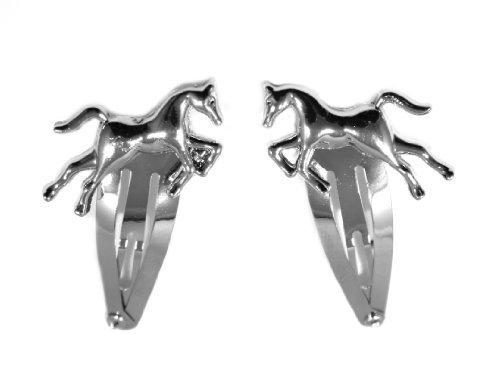 2-silver-unisex-2-horse-hair-slides-silver
