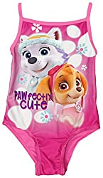 Girls Paw Patrol Pawfectly Cute Skye & Everest Swimming Costume sizes from 2 to 6 Years