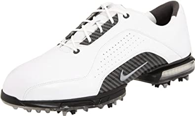 Nike Golf Men's Nike Zoom Advance Golf Shoe,White/Metallic Silver/White,9 W US
