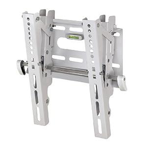 Hama TV-Wandhalterung MOTION, neigbar, für 25 - 94 cm Diagonale (10 - 37 Zoll), max. 25 kg, VESA bis 200 x 200, Wandabstand 5,2 cm,  weiß