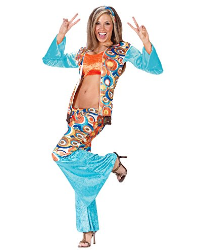 Hippie Chic Costume Retro 1960 60s 70s Costume