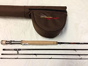 Cortland Competition Nymph Fly Rod 9.5 foot 2 weight 4 piece