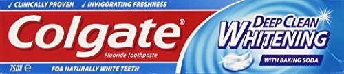 Colgate - Dentifricio, Deep Clean Whitening Con Bicrbonato Di Sodio - 75 Ml
