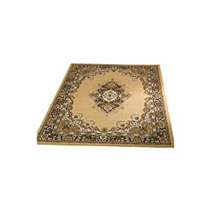 Element Lancaster Beige Contemporary Rug Rug Size: 250cm x 180cm (8 ft 2.5 in x 5 ft 11 in) by Flair Rugs