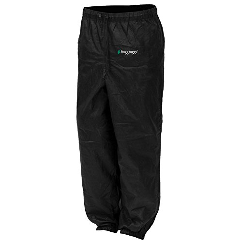 Frogg Toggs Women's Pro Action Pant, Black, Medium (Women Rain Pants compare prices)