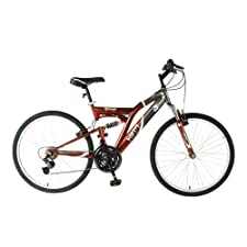 Mantis Ghost Men's 26 Inch Bike Black/Bronze