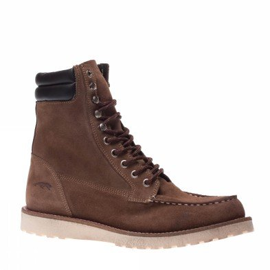Jack And Jones Boots Mens Fern Sand Suede Brown