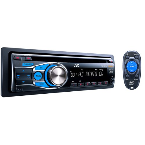 Jvc Kdhdr44 Hd Radio Cd Receiver With Dual Aux Inputs