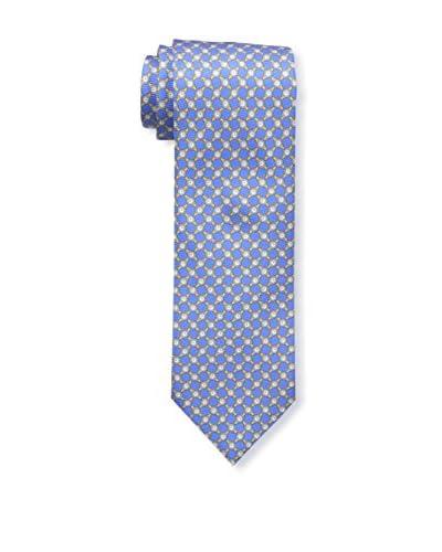 Ermenegildo Zegna Men's Watch Tie, Blue, OS M US