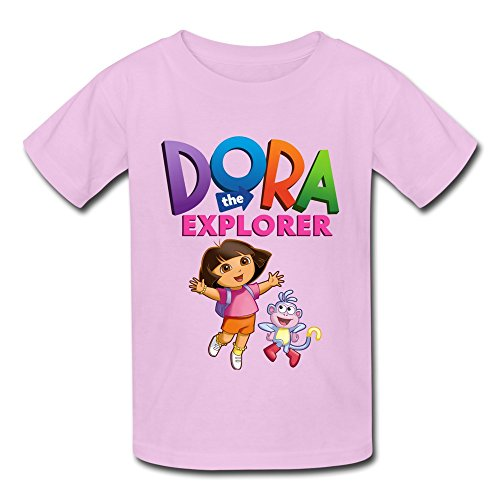 [Seico Dora The Explorer Boots T-shirt For Unisex Kids XL Pink] (Swiper Costumes For Adults)