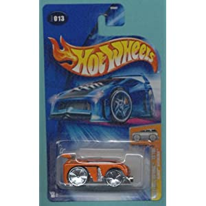 Mattel Hot Wheels 2004 Blings 1:64 Scale Orange Hyperliner Die Cast Car 013