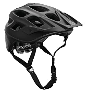 SixSixOne Recon Stealth Helmet (Matte Black, Small Medium) by SixSixOne