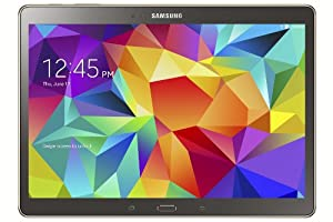 """Samsung Galaxy Tab S 10.5"""" Titanium Bronze Tablet Octa-Core 1.9GHz 3Gb Ram 16GB HD Android Kit Kat 4.4 SM-T800NTSABTU"""