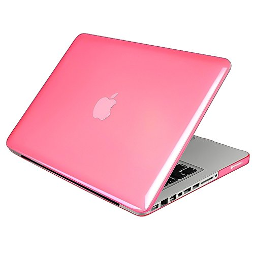 Insten Snap-On Case for Apple 13-Inch MacBook Pro, Clear Pink (538585)