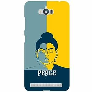 Asus Zenfone Max ZC550KL Back cover - Peace Designer Cases