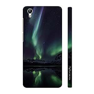 Enthopia Designer Hardshell Case Northern Lights Back Cover for Vivo Y51L