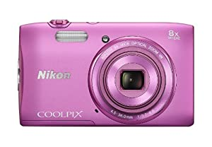Nikon Coolpix S3600 ( 20.48 MP,8 x Optical Zoom,2.7 -inch LCD )