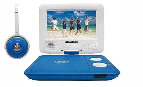 Sylvania SDVD7043-BLWHT 7-Inch Portable Photo