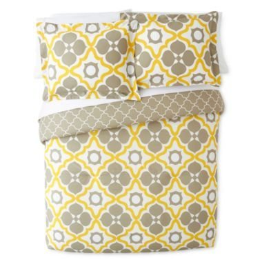 happy-chic-2pc-twin-duvet-cover-set-large-moroccan-tiles-quatrefoil-reversible-lattice-yellow-taupe-