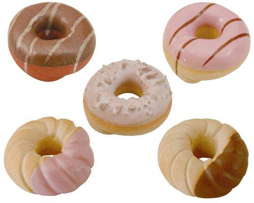 美濃焼 手作り 箸置き ドーナツ レスト 5種セット gf268