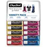 Chapstick Lip Balm Variety Pack (10 Sticks X 4g Each)