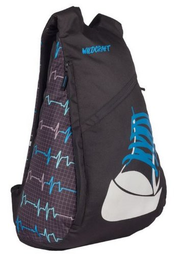 Wildcraft Hoodie ECG 28 liters Blue Casual Backpack