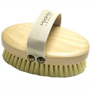 Hydrea Professional Dry Skin Body Brush with Cactus Bristles
