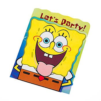 Spongebob Invitations - 1