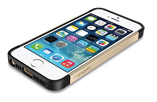国内正規品SPIGEN SGP iPhone5/5S ケース スリムアーマーS [シャンパンゴールド] SGP10604