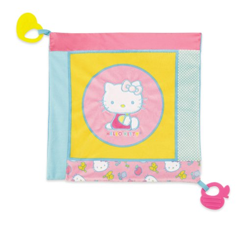 Hello Kitty Baby Teether Blanket (Discontinued by Manufacturer)