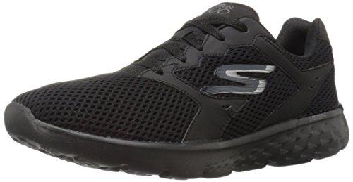Skechers Performance Men's Go Run 400 Running Shoe, Black, 9.5 M US