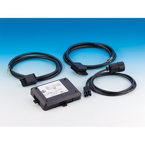 power splitter set anschluss von kochfeld backofen oder geschirrsp ler inkl 3 kabel mit je 2. Black Bedroom Furniture Sets. Home Design Ideas