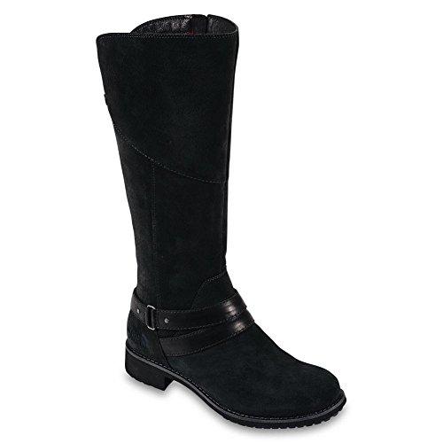The North Face Bridgeton Boot Womens TNF Black/TNF Red 6.5