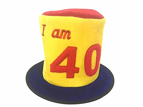 I Am 40 Funny Birthday Hat