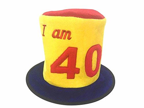 I Am 40 Funny Birthday Hat