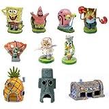 Spongebob 10-Piece Aquarium Decorative Set