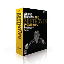 Mariss Jansons - The Beethoven Symphonies (Blu Ray) [Blu-ray]