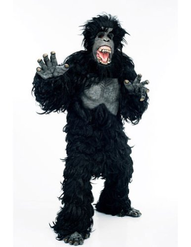 Gorilla Hairy Adult One Size Adult Mens Costume